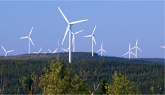 Massif du Sud Wind farm